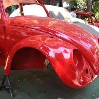 1966 vw 1200 kırmızı