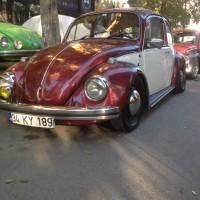 1969 Vw 1300 Bordo Krem