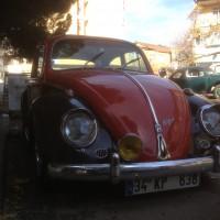 1965 Vw 1300 Siyah Kırmızı